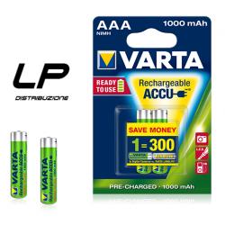 VARTA AAA 1000 MAH BATTERIA